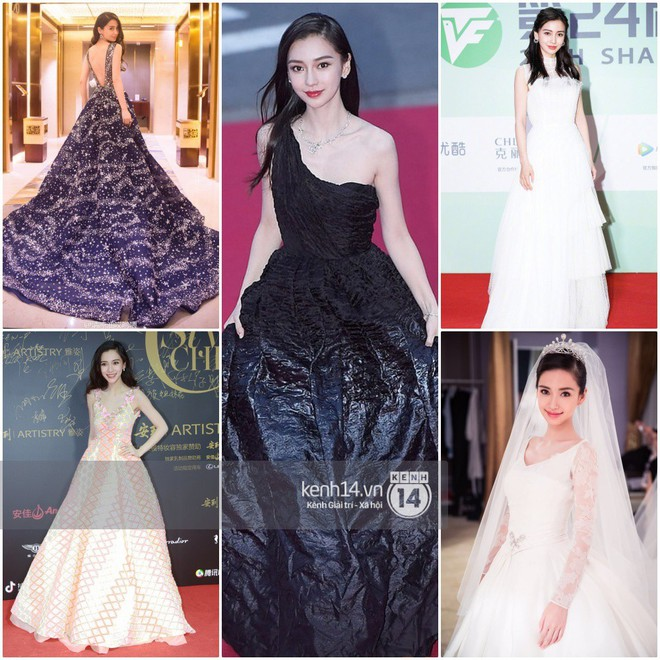 So sánh số lần Tiểu Hoa Đán diện đồ Haute Couture đi sự kiện: Angela Baby vô địch với 26 lần trong khi Dương Mịch mới được mặc 2 lần - ảnh 1