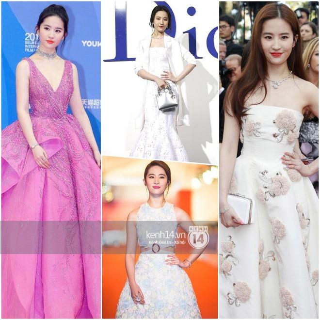 So sánh số lần Tiểu Hoa Đán diện đồ Haute Couture đi sự kiện: Angela Baby vô địch với 26 lần trong khi Dương Mịch mới được mặc 2 lần - ảnh 2