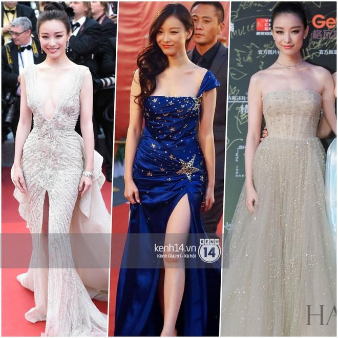 So sánh số lần Tiểu Hoa Đán diện đồ Haute Couture đi sự kiện: Angela Baby vô địch với 26 lần trong khi Dương Mịch mới được mặc 2 lần - ảnh 3