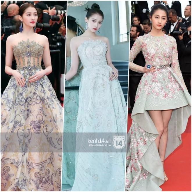 So sánh số lần Tiểu Hoa Đán diện đồ Haute Couture đi sự kiện: Angela Baby vô địch với 26 lần trong khi Dương Mịch mới được mặc 2 lần - ảnh 5