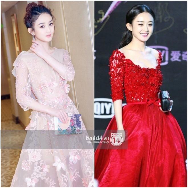 So sánh số lần Tiểu Hoa Đán diện đồ Haute Couture đi sự kiện: Angela Baby vô địch với 26 lần trong khi Dương Mịch mới được mặc 2 lần - ảnh 7