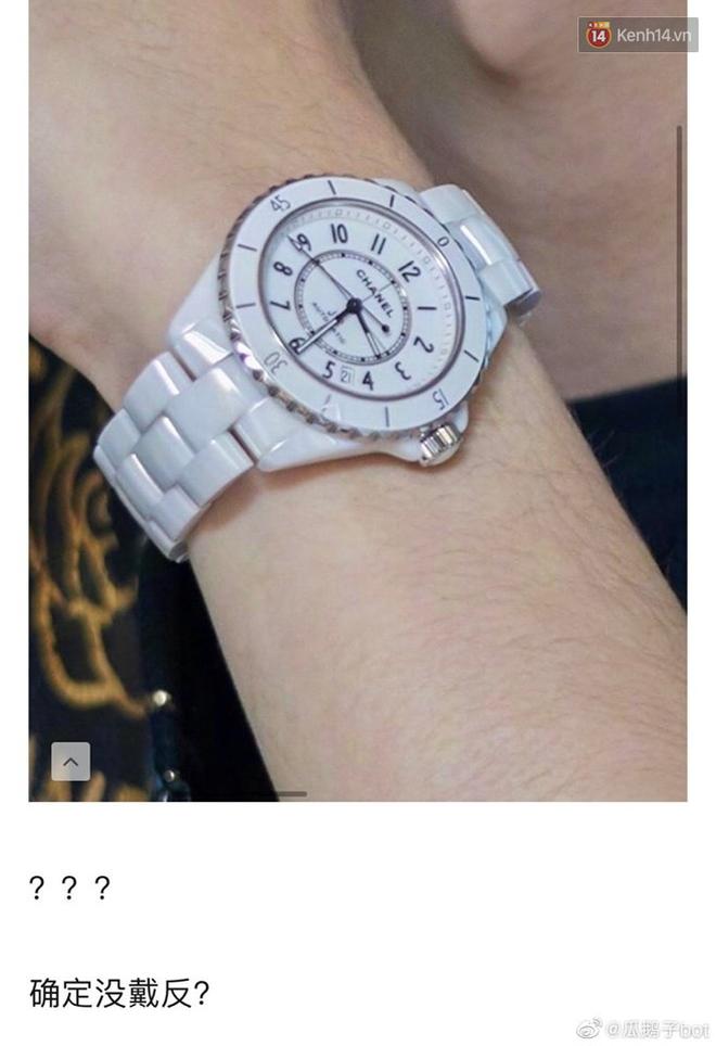 Cứ ngỡ Vương Nhất Bác thiếu hiểu biết khi đeo ngược đồng hồ hàng hiệu nhưng hóa ra lại là EQ cao không ngờ - ảnh 2