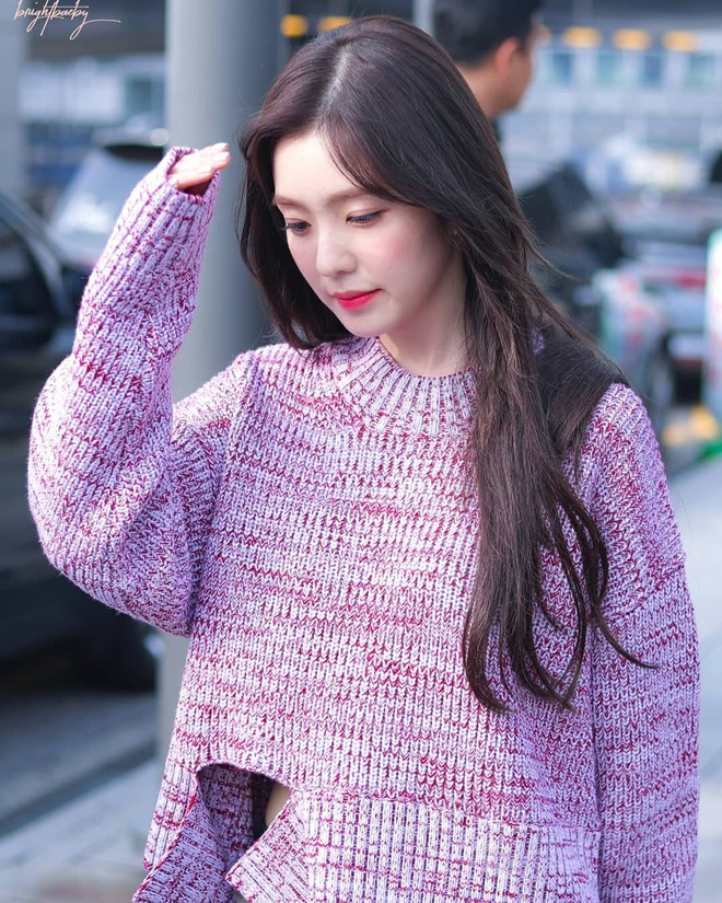 Cắt tóc mái chuẩn như Irene: để được 4 kiểu từ ngây thơ đến đẹp như nữ thần - ảnh 5
