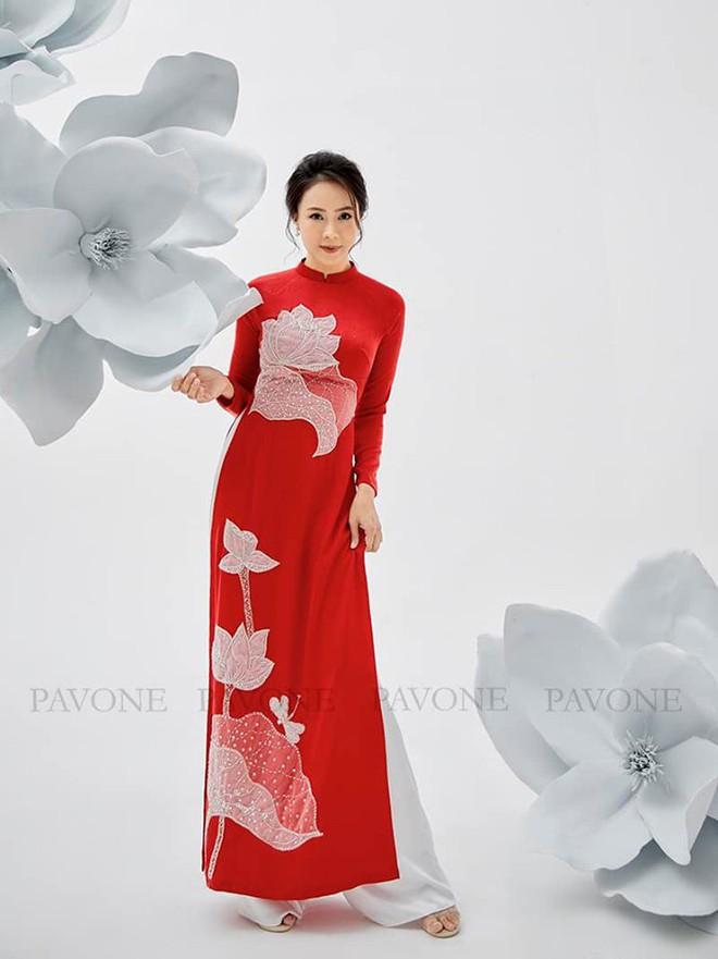 Hồng Diễm nền nã trong bộ ảnh diện áo dài truyền thống, duyên dáng chuẩn vẻ đẹp của phụ nữ Việt Nam - ảnh 5