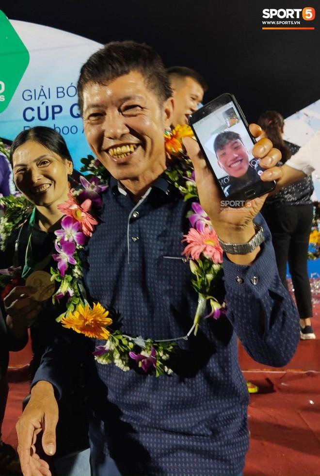 Từ Hà Lan, Văn Hậu cùng hưởng niềm vui vô địch với Hà Nội FC bằng cách đặc biệt này - ảnh 2