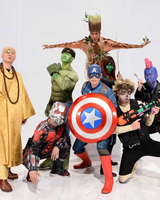 Halloween chưa biết hóa trang như thế nào thì hãy xem show, học ngay loạt sao Hàn này! - ảnh 17