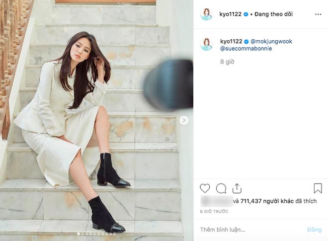 Động thái đầu tiên của Song Hye Kyo trên MXH sau 3 tháng ly dị: Đăng loạt ảnh gì mà gây bão thế này? - Ảnh 2.