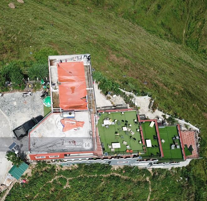 Chùm ảnh: Cận cảnh toà nhà 7 tầng xây dựng trái phép trên đỉnh Mã Pì Lèng - Ảnh 5.