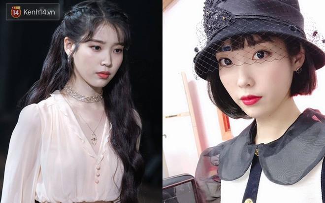 Idol Hàn cắt tóc ngắn: IU, Yoona, Wendy xinh ngất người; Krystal, Suzy lại thuộc nhóm xuống sắc - ảnh 2