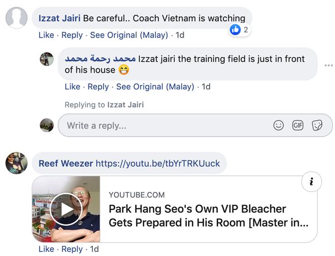 CĐV tuyển Malaysia tố Việt Nam chơi xấu vì xếp sân tập nằm sát nhà HLV Park Hang-seo - ảnh 4