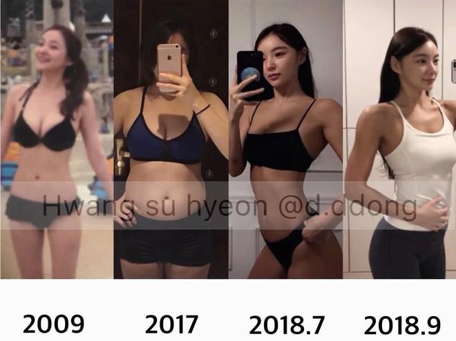 Từ 65kg xuống 45kg, cô gái Hàn Quốc rũ bỏ bụng mỡ để lấy lại vòng eo thon gọn chỉ sau 1 năm - ảnh 8