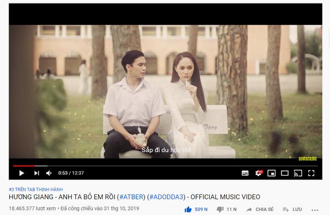 Nàng thơ của Jack và K-ICM bất ngờ dẫn đầu top trending, loạt MV đình đám Vpop thất thủ trước thế lực nhạc chế - ảnh 3