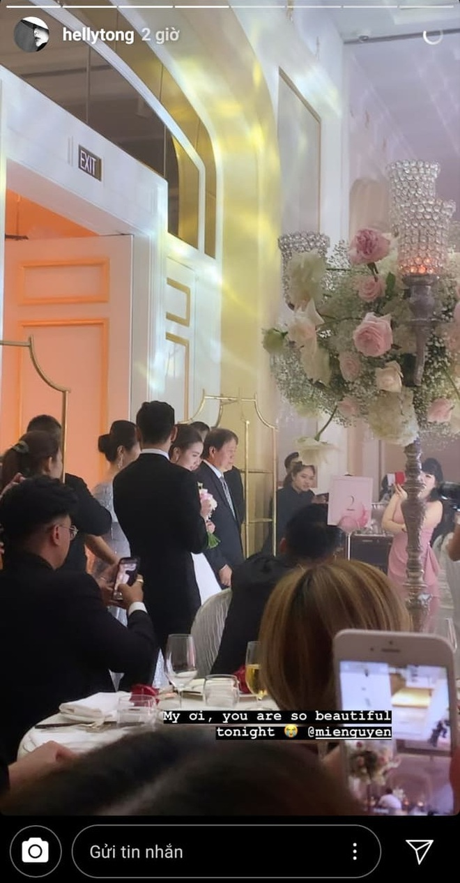 Chạy show chúc mừng Mie, Helly Tống vẫn ám ảnh chuyện bị quăng xuống hồ tới 20 lần ở siêu đám cưới Đông Nhi - Ông Cao Thắng - ảnh 1