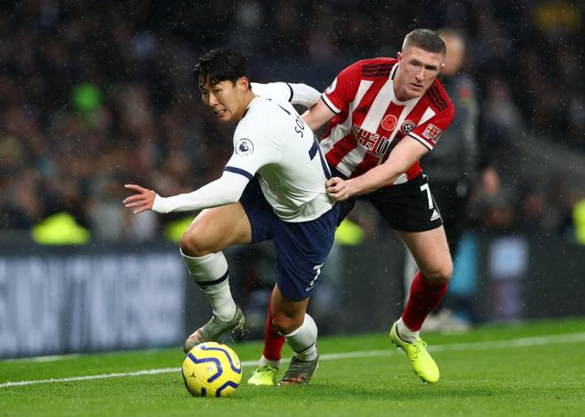 Được xóa thẻ đỏ sau sự cố làm đồng nghiệp gãy chân, Son Heung-min thi đấu chói sáng nhưng vẫn không thể giúp đội nhà giành trọn 3 điểm - ảnh 1