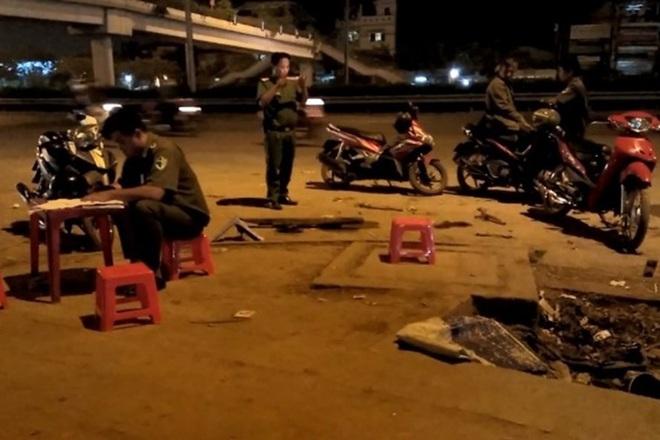 Hai nhóm thanh niên hỗn chiến trong đêm khiến 2 người nhập viện - ảnh 1
