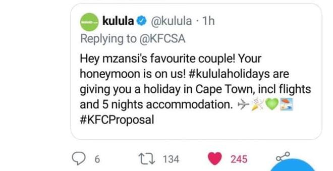Mạnh dạn cầu hôn trong KFC, cặp đôi bất ngờ bị hàng loạt thương hiệu lớn truy lùng đòi... tặng quà khủng và đài thọ toàn bộ chi phí cưới hỏi - ảnh 5