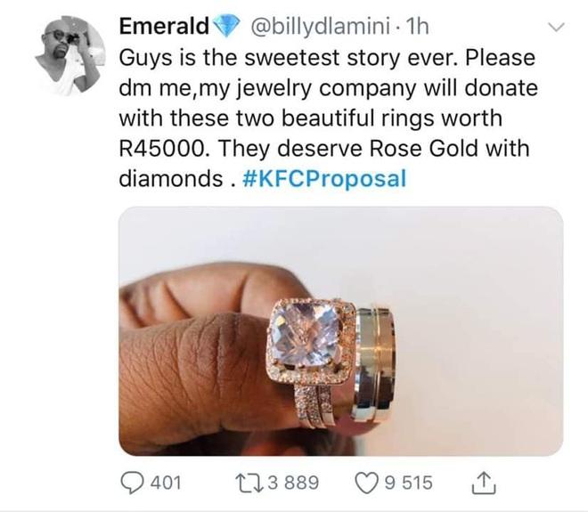 Mạnh dạn cầu hôn trong KFC, cặp đôi bất ngờ bị hàng loạt thương hiệu lớn truy lùng đòi... tặng quà khủng và đài thọ toàn bộ chi phí cưới hỏi - ảnh 8