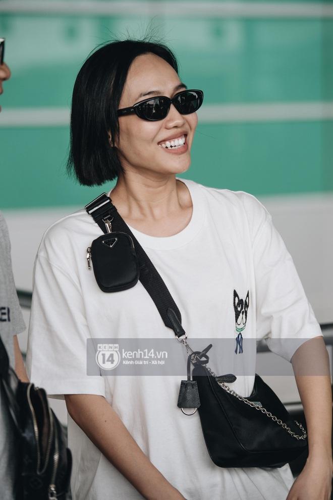 Dàn sao Vbiz đổ bộ sân bay rời Phú Quốc: Người thấm mệt, người vẫn tươi rói sau đêm quẩy nhiệt tại đám cưới Đông Nhi - ảnh 10