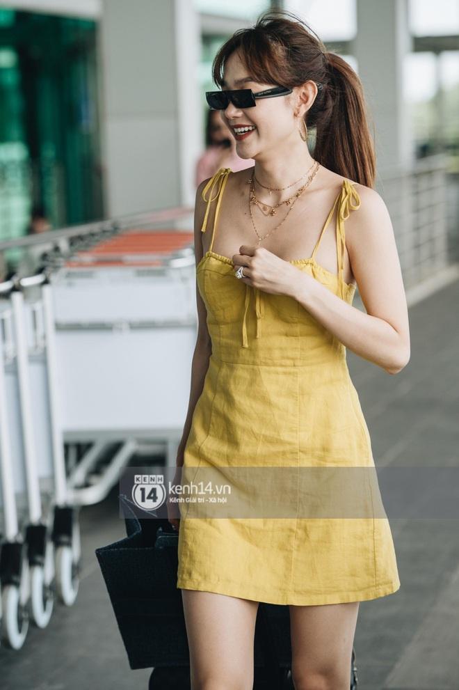 Dàn sao Vbiz đổ bộ sân bay rời Phú Quốc: Người thấm mệt, người vẫn tươi rói sau đêm quẩy nhiệt tại đám cưới Đông Nhi - ảnh 7
