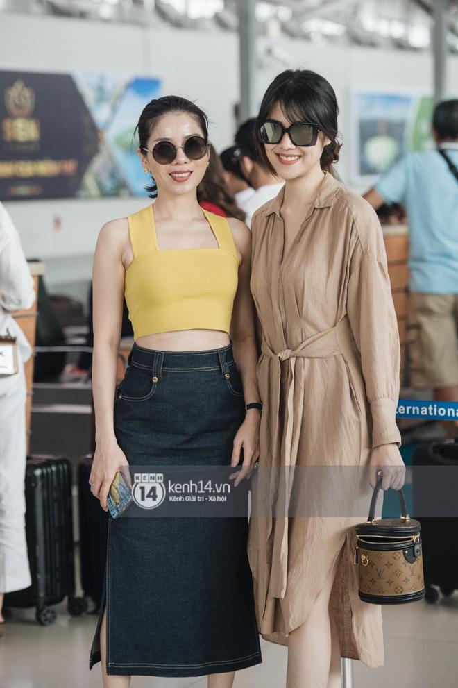 Dàn sao Vbiz đổ bộ sân bay rời Phú Quốc: Người thấm mệt, người vẫn tươi rói sau đêm quẩy nhiệt tại đám cưới Đông Nhi - ảnh 6
