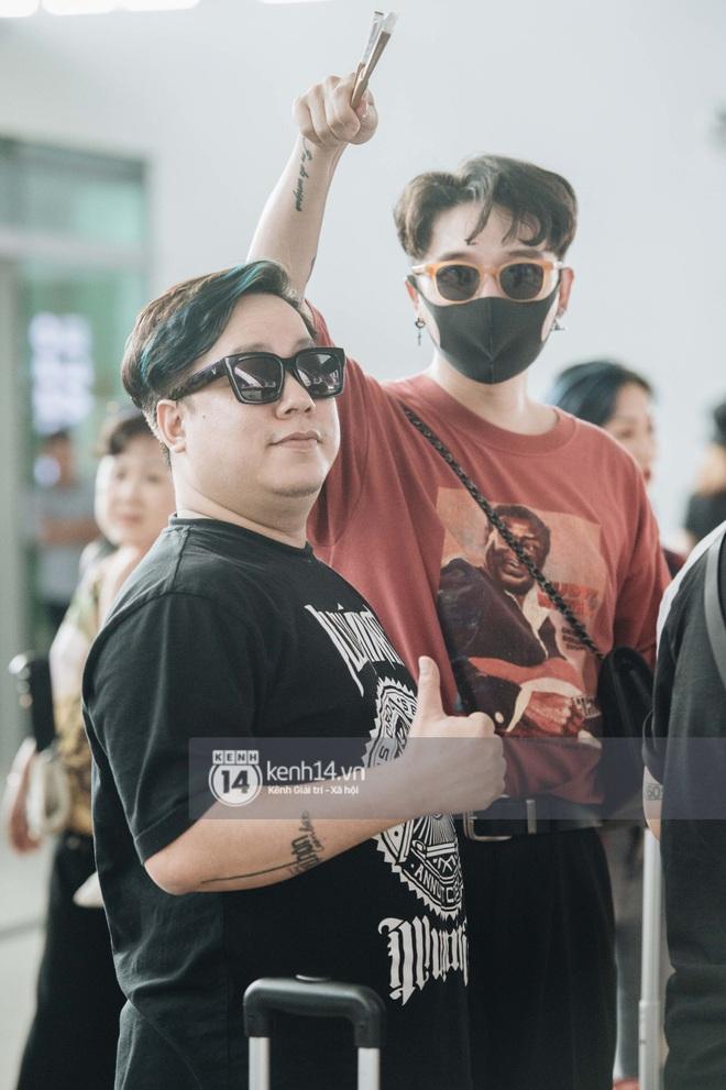 Dàn sao Vbiz đổ bộ sân bay rời Phú Quốc: Người thấm mệt, người vẫn tươi rói sau đêm quẩy nhiệt tại đám cưới Đông Nhi - ảnh 22