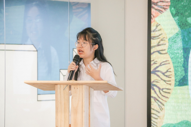 Green Talk: Màn debate nảy lửa của dàn thí sinh hot nhất Trường Teen, đến MC Thùy Minh và Khánh Vy cũng cực kỳ tâm đắc! - ảnh 6