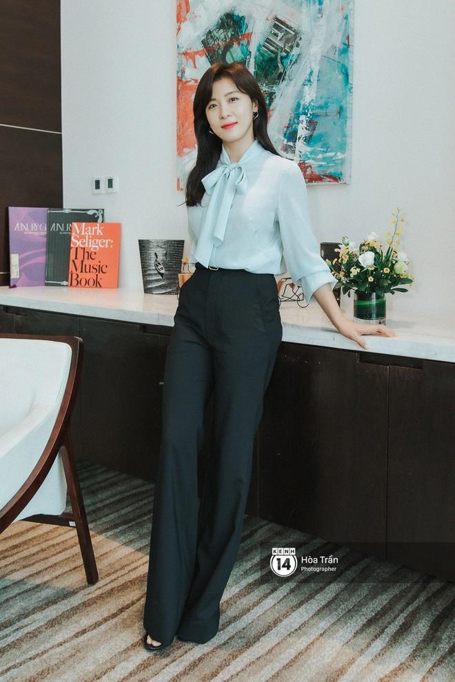 Phỏng vấn Hoàng hậu Ki Ha Ji Won tại Việt Nam: Không dưới 10 lần định bỏ làm diễn viên, tiết lộ bí quyết giữ nhan sắc hack tuổi - ảnh 12