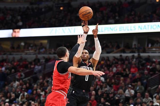 NBA 19-20: James Harden tỏa sáng với 42 điểm giúp Houston Rockets nhấn chìm Chicago Bulls - ảnh 2