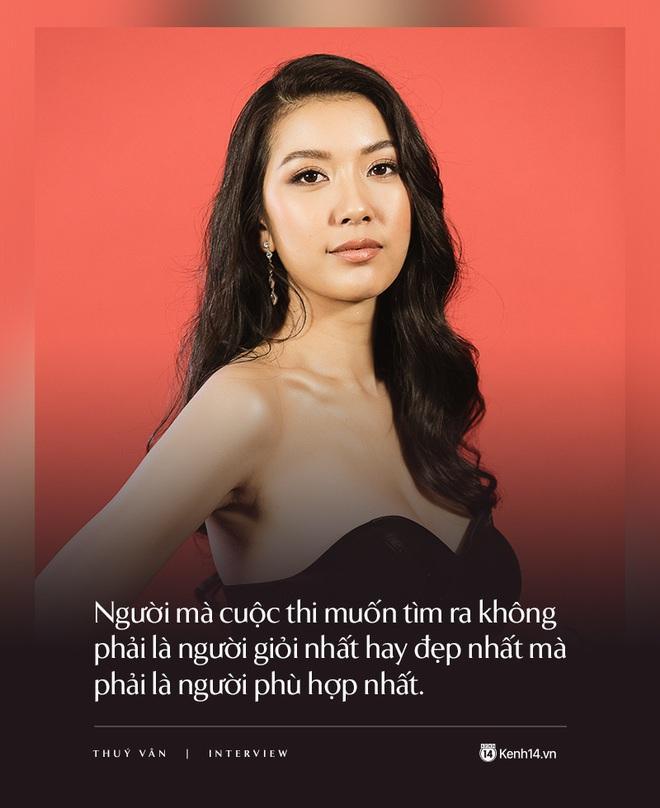 Thúy Vân: Đây không phải cuộc thi Hoa hậu thân thiện mà là Hoa hậu Hoàn vũ, một kỳ Olympic của sắc đẹp - ảnh 3
