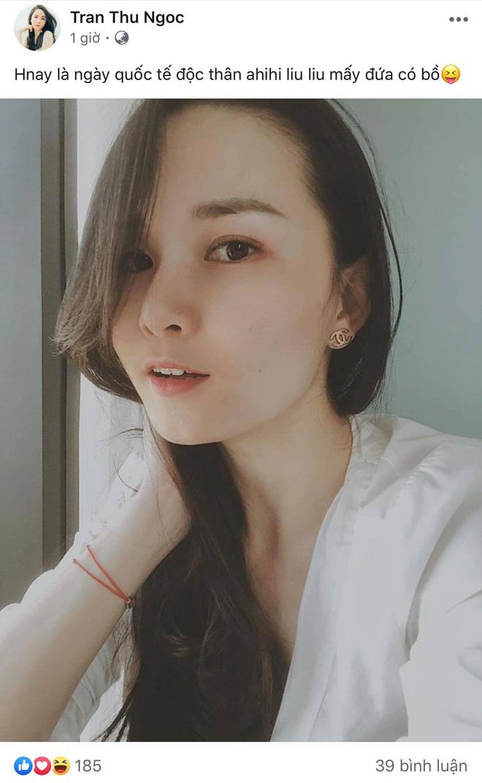Sao Vbiz tuyên bố độc thân ngày Single Day: Tim - Trương Quỳnh Anh để status lạ, Hồ Quang Hiếu vẫn F.A dù bị đồn tái hợp Bảo Anh - Ảnh 2.