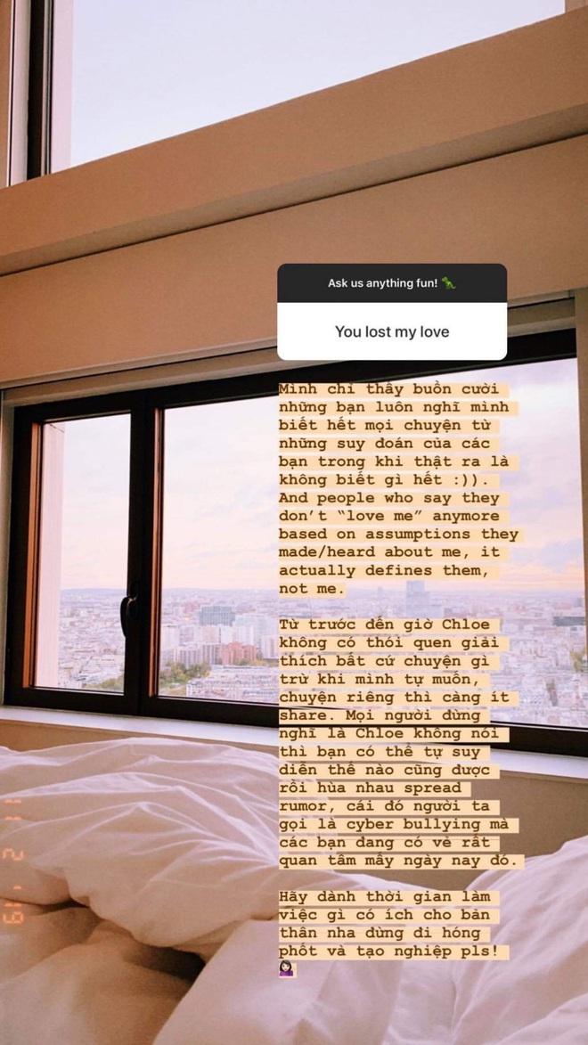 Chloe Nguyễn từng viết status ẩn ý giữa tin đồn nghỉ chơi với An Phương vì liên quan đến bạn trai - ảnh 7