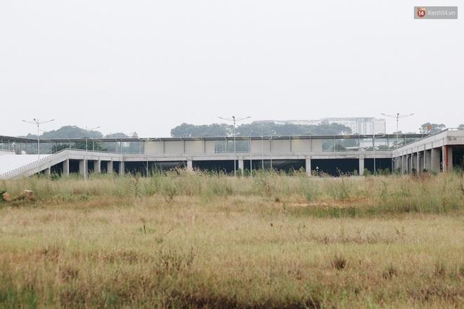 Bến xe Miền Đông mới trị giá 4.000 tỉ đồng đã hoàn thành nhưng vẫn án binh bất động, cỏ dại phủ kín xung quanh - ảnh 12