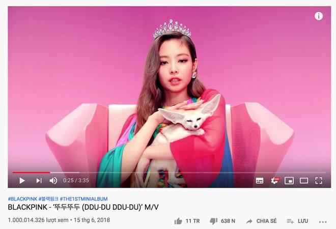 NÓNG: DDU-DU DDU-DU vừa cán mốc 1 tỷ view và 11 triệu like cùng lúc, BLACKPINK lập kỷ lục chưa từng có với 1 nhóm nhạc Kpop! - ảnh 1
