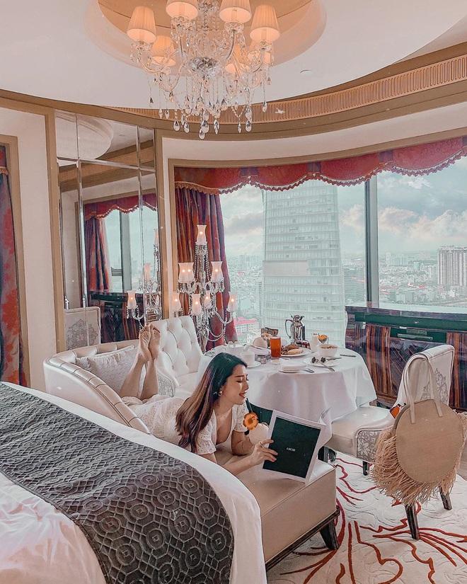 Bên trong khách sạn 6 sao Bảo Thy tổ chức đám cưới: là nơi dành cho giới quyền lực và siêu giàu, giá phòng cao ngất ngưởng - Ảnh 20.