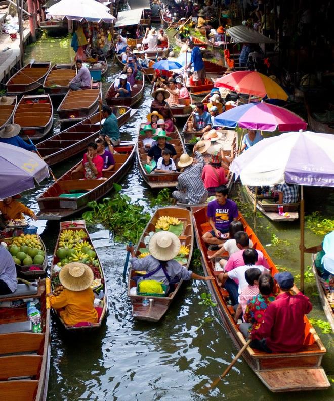 """Đi Thái mà """"lơ đẹp"""" 8 khu chợ nổi """"đỉnh cao"""" gần ngay Bangkok thì thiếu sót lắm đấy - Ảnh 6."""