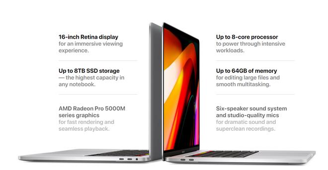 MacBook Pro 2019 trình làng mới toanh: Sốc với mức giá chỉ dành cho câu lạc bộ sinh ra ở vạch đích! - Ảnh 3.