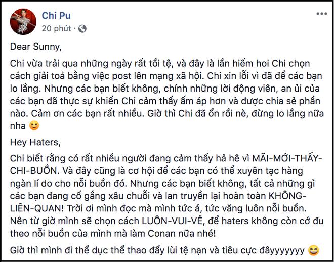 """Chi Pu lên tiếng phủ nhận chuyện buồn bã liên quan tới Gil Lê và Hoàng Thùy Linh: """"Mình đọc mà mình tức á"""" - Ảnh 1."""