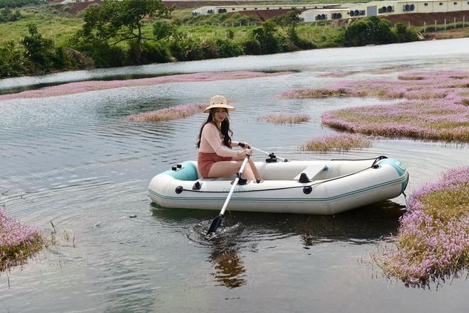 """Dân mạng phát sốt trước hồ Tảo Hồng có thật 100% giữa Việt Nam, lên hình muốn """"ảo tung chảo"""" thì phải nhớ chỉnh màu? - Ảnh 14."""