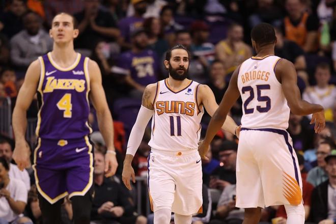 NBA 19-20: Bùng nổ ở những phút cuối trận, Los Angeles Lakers vượt qua Phoenix Suns trong trận đấu đầy kịch tính - ảnh 4