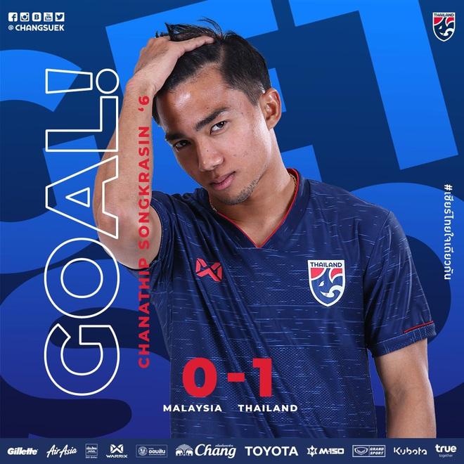 Cập nhật Malaysia 1-1 Thái Lan: Messi Thái mở tỷ số ngay phút thứ 7 bằng pha dứt điểm đẳng cấp - ảnh 1