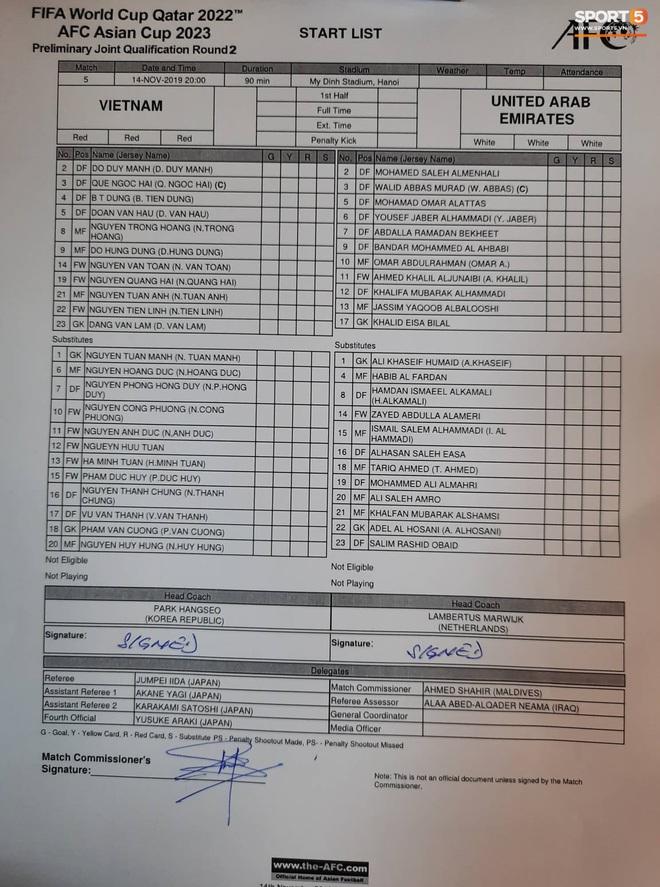 Tuyển thủ Việt Nam ra sân với số áo lạ và sự tinh quái của thầy Park - ảnh 10