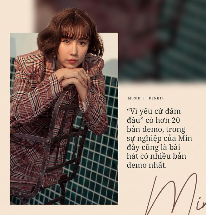 Min: Khán giả chẳng bao giờ chán nội dung người thứ ba, đam mỹ, bách hợp. Tôi thì muốn MV của mình đẹp, nghệ thuật, đừng drama quá. - ảnh 2