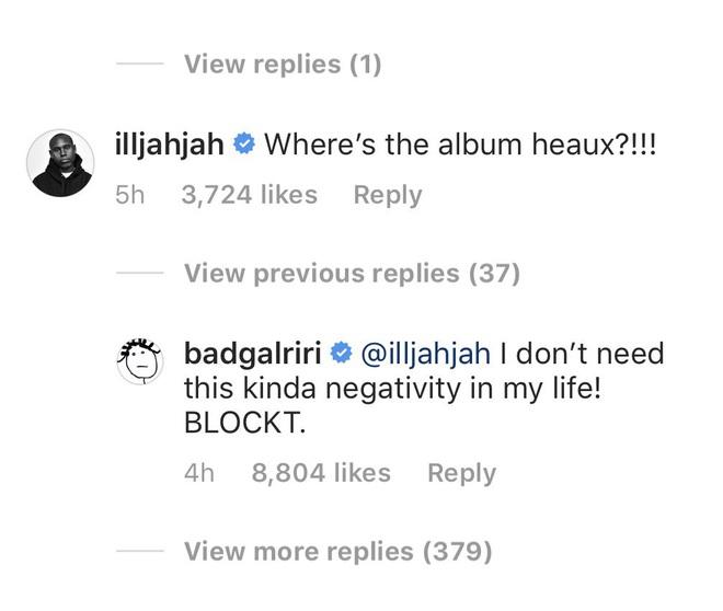 Nhân viên Rihanna lỡ miệng comment hỏi thăm về tung tích album mới, bị chính chủ block block ngay và luôn! - ảnh 1