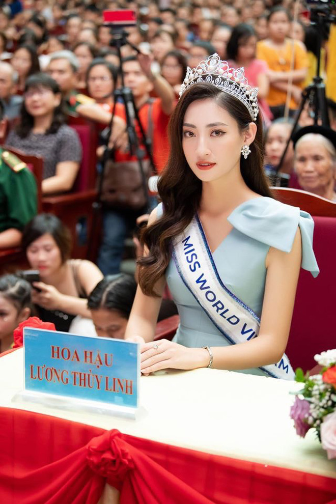 Màn giới thiệu tiếng Anh tham dự Miss World 2019 quá đỉnh của Lương Thuỳ Linh, không hổ danh là thành viên của đội tuyển HSG quốc gia, IELTS 7.5 - ảnh 7