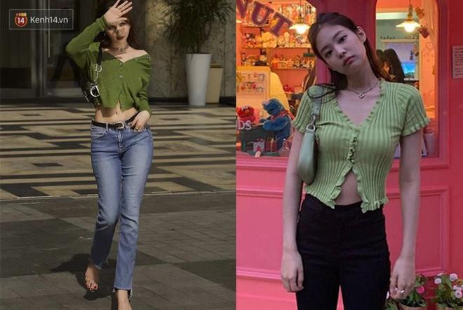 Duyên nợ đụng hàng tới 4 lần: Ngọc Trinh có thể thua Jennie ở khí chất thời trang nhưng riêng về khoản khoe dáng nuột thì đôi khi còn lấn lướt - ảnh 10