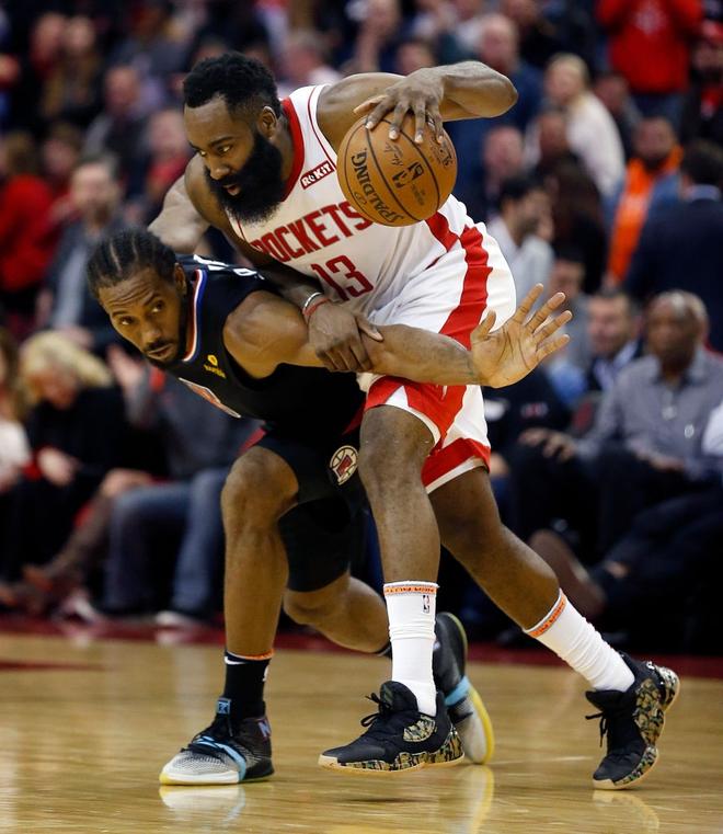 NBA 19-20: Bùng nổ ở hiệp 4 với 17 điểm, James Harden dẫn dắt Houston Rockets vượt qua màn ngược dòng của Los Angeles Clippers - ảnh 2