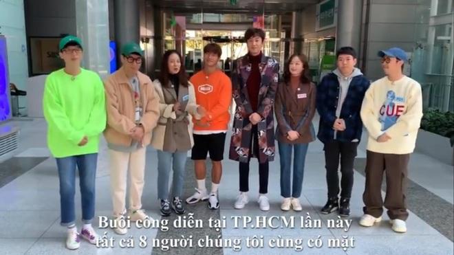 Dàn sao Running Man gửi lời chào đến fan Việt trước khi sang tổ chức fan meeting - ảnh 2