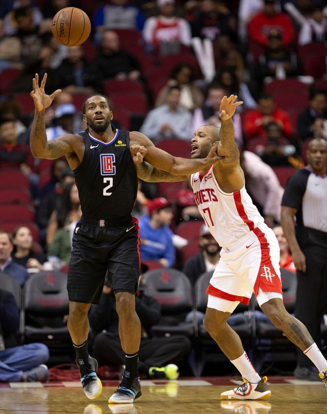 NBA 19-20: Bùng nổ ở hiệp 4 với 17 điểm, James Harden dẫn dắt Houston Rockets vượt qua màn ngược dòng của Los Angeles Clippers - ảnh 3