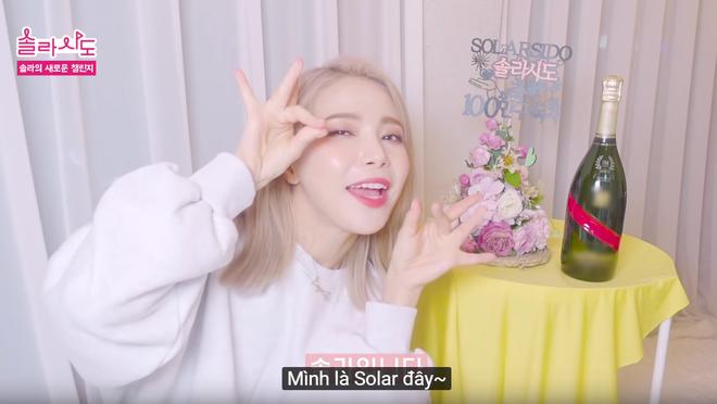 Tập tành làm bà Solar Vlog, trưởng nhóm MAMAMOO kiếm sương sương 2 tỷ một tháng - ảnh 3