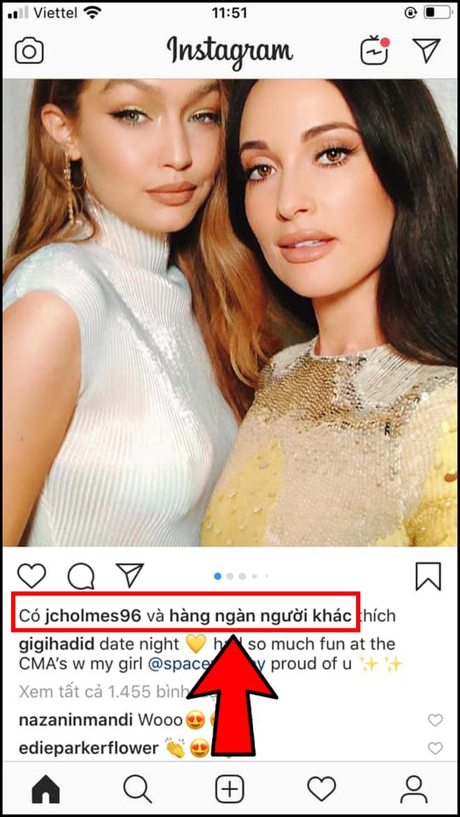 2 15737967856801613046736 Instagram Việt Nam bắt đầu bỏ số Like trên ảnh
